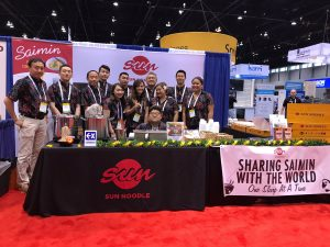 Sun foods booth picture