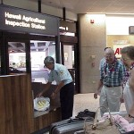 Quarantine inspector at the Honolulu airport inspection station