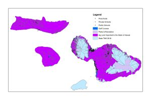 Maui BUFFER ZONES FOR RESTRICTED USE PESTICIDE