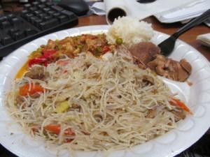 Filipino plate
