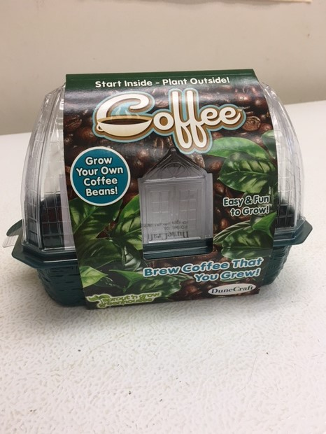 coffee-growing kits imported from the U.S. Mainland
