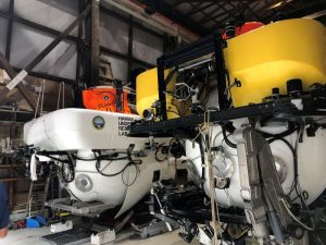 Pisces IV - Manned underwater submersible